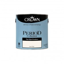 Crown Period Colours Emulsion Paint 2.5L Lime Wash