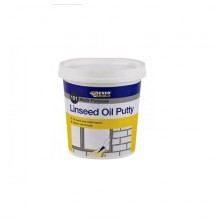 Everbuild Multi Purpose Linseed Oil Putty 0.5KG Brown