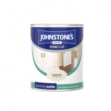 Johnstones Quick Dry Satin Paint 750ml Magnolia