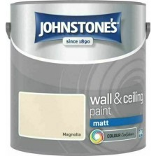 Johnstones Vinyl Emulsion Paint 2.5L Magnolia (Matt)