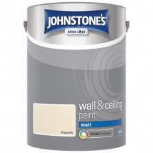Johnstones Vinyl Emulsion Paint 5L Magnolia Matt