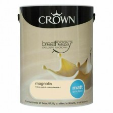 Crown Emulsion Paint 5L Magnolia Matt