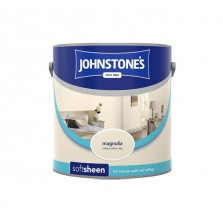Johnstones Vinyl Emulsion Paint 2.5L Magnolia (Soft Sheen)