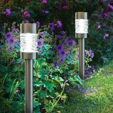 Solar Powered Martello Garden Light (3 Pack)
