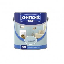 Johnstones Vinyl Emulsion Paint 2.5L New Duck Egg (Matt)