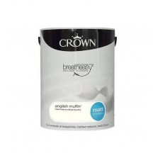 Crown Breathe Easy Emulsion Paint 5L English Muffin (Matt)