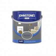 Johnstones Vinyl Emulsion Paint 2.5L Steel Smoke (Matt)