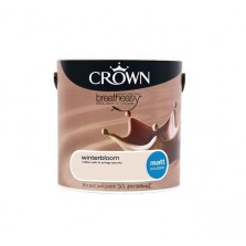 Crown Breathe Easy Emulsion Paint 2.5L Winter Bloom (Matt)