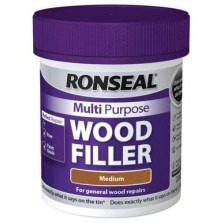 Ronseal Multi Purpose Wood Filler 250ml Medium