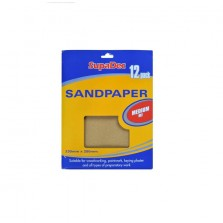 Supadec General Purpose Medium Sand Paper (12 Pack)