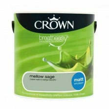Crown Emulsion Paint 2.5L Mellow Sage Matt