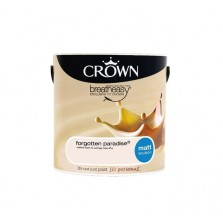 Crown Breathe Easy Emulsion Paint 2.5L Forgotten Paradise (Matt)