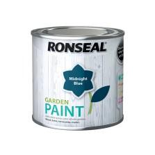 Ronseal Garden Paint 250ml Midnight Blue