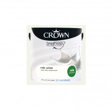 Crown Emulsion Paint 2.5L Milk White Silk