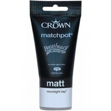 Crown Tester Pot 40ml Moonlight Bay Matt
