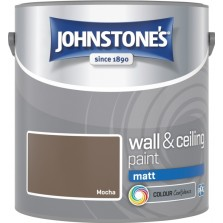 Johnstones Vinyl Emulsion Paint 2.5L Mocha (Matt)