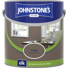 Johnstones Vinyl Emulsion Paint 2.5L Mocha Silk