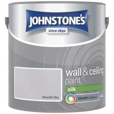 Johnstones Vinyl Emulsion Paint 2.5L Moonlit Sky (Silk)