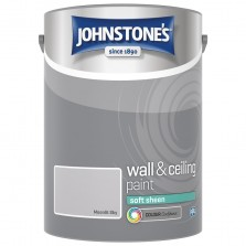 Johnstones Vinyl Emulsion Paint 5L Moonlit Sky (Soft Sheen)