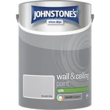 Johnstones Vinyl Emulsion Paint 5L Moonlit Sky Silk