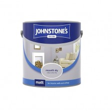 Johnstones Vinyl Emulsion Paint 2.5L Moonlit Sky (Matt)