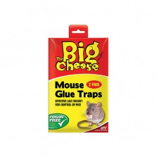 The Big Cheese Twin Pack Mouse Glue Traps STV182