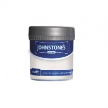 Johnstones Vinyl Emulsion Tester Pot 75ml White Whisper (Matt)