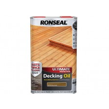 Ronseal Ultimate Decking Oil 5L Natural Oak