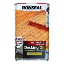 Ronseal Ultimate Decking Oil 5L Natural Pine
