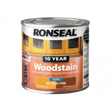 Ronseal 10 Year Woodstain Natural Pine Satin 750ml