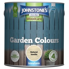 Johnstones Garden Colours Paint 2.5L Natural Vanilla
