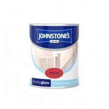 Johnstones Non Drip Gloss Paint 750ml Signal Red