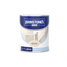 Johnstones Non Drip Gloss Paint 750ml Soft Cream