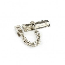 Securit S1625 Nickel Plated Steel Door Chain 80mm