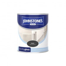 Johnstones Non Drip Gloss Paint 250ml Black
