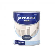 Johnstones Non Drip Gloss Paint 750ml Oxford Blue