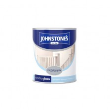 Johnstones Non Drip Gloss Paint 750ml Manhattan Grey