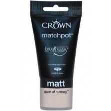 Crown Tester Pot 40ml Dash Of Nutmeg Matt