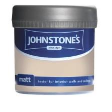 Johnstones Vinyl Emulsion Tester Pot 75ml Oatcake (Matt)
