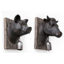 Animal Wall Bell Plaque (19cm x 15cm)