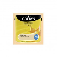 Crown Emulsion Paint 2.5L Pale Gold Matt