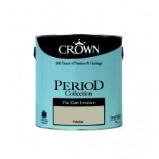 Crown Period Colours Emulsion Paint 2.5L Palladium (Matt)