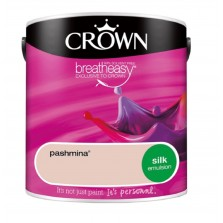 Crown Emulsion Paint 2.5L Pashmina Silk