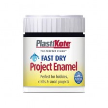 PlastiKote Enamel Paint 59ml Black Gloss