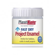 PlastiKote Enamel Paint 59ml Chrome
