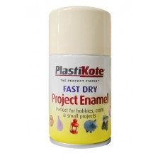 PlastiKote Spray Paint 100ml Creme de la Creme Gloss