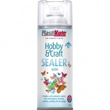 PlastiKote Hobby & Craft Sealer Spray 400ml Gloss