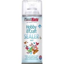 PlastiKote Hobby & Craft Sealer Spray 400ml Matt