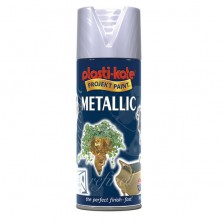 PlastiKote Metallic Spray Paint 400ml Silver