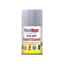 PlastiKote Spray Paint 100ml Aluminium (Silver) Gloss